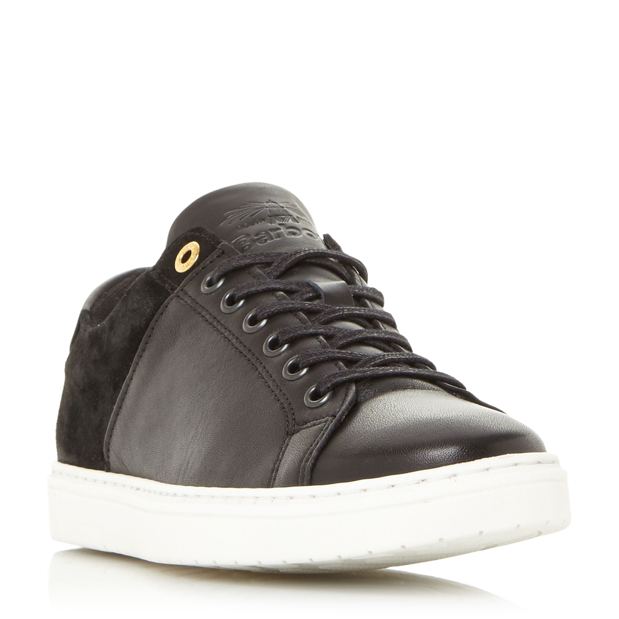 Barbour Catalina 2 Tone Cupsole Trainers, Black