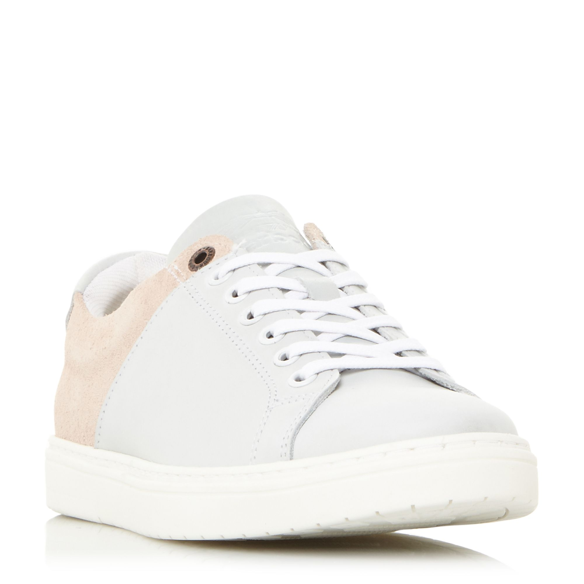 Barbour Catalina 2 Tone Cupsole Trainers, White