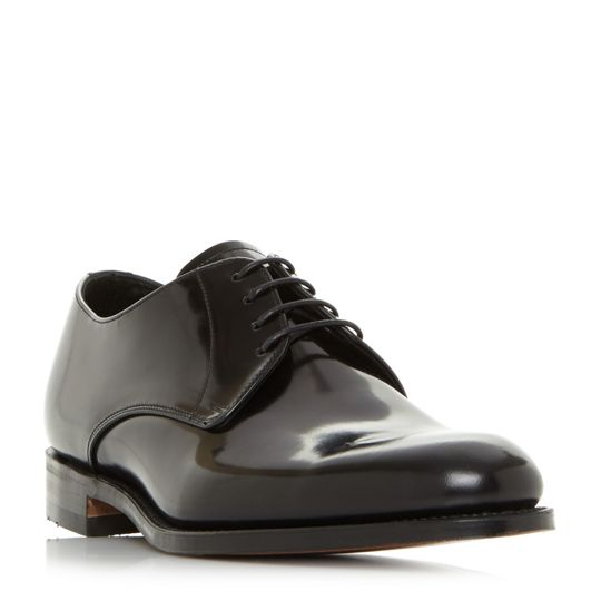 Loake Vaughn Polished Derby Shoes