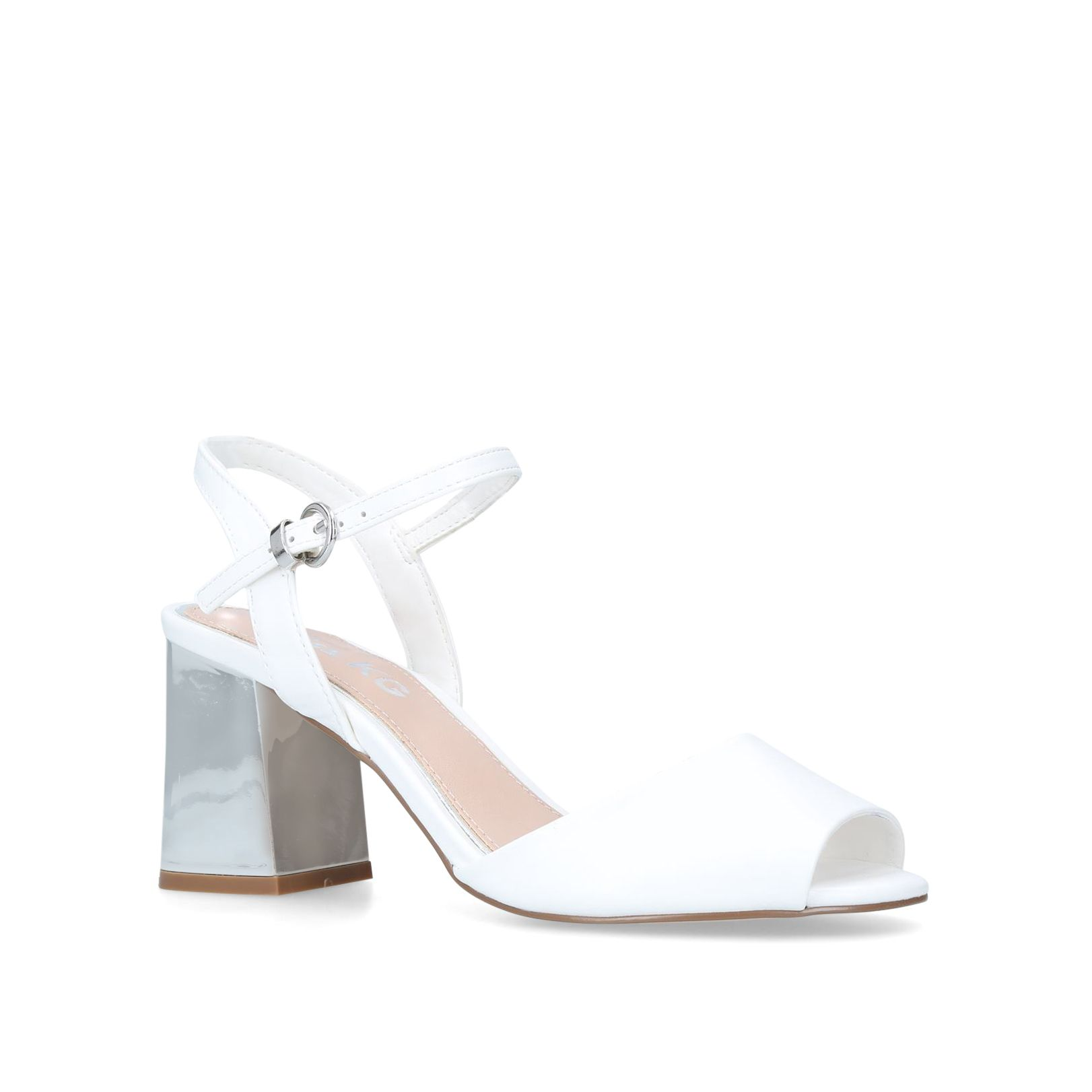 Miss KG Cara Sandals, White