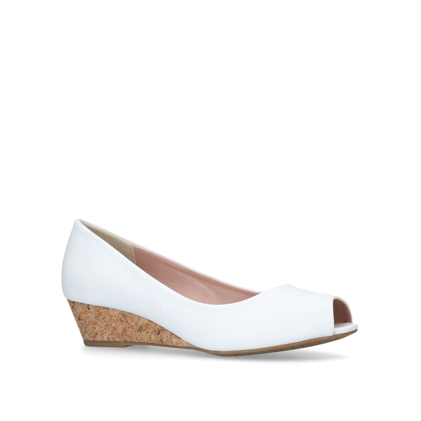 Miss KG Carley Courts, White