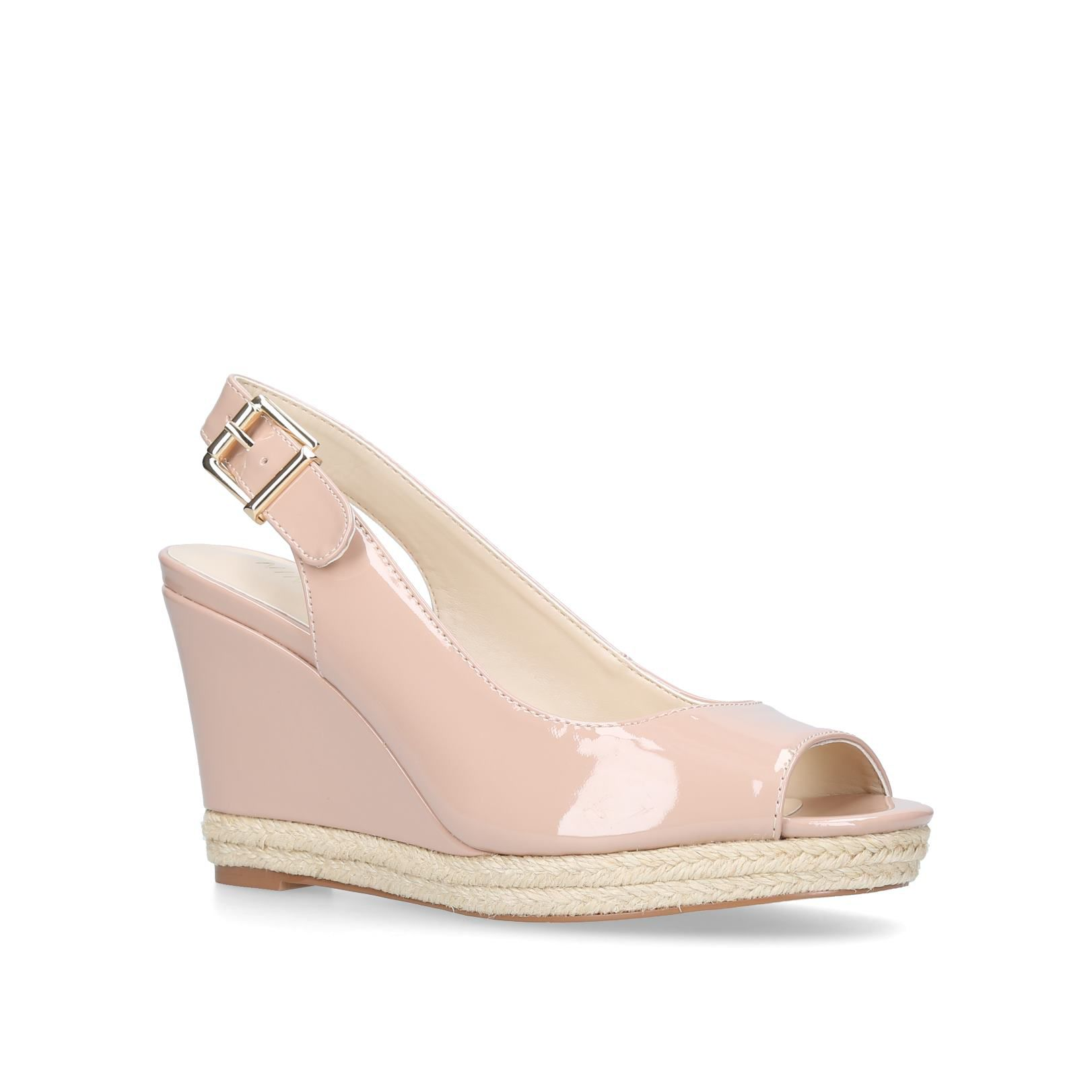 Nine West Dionne Sandals, Nude