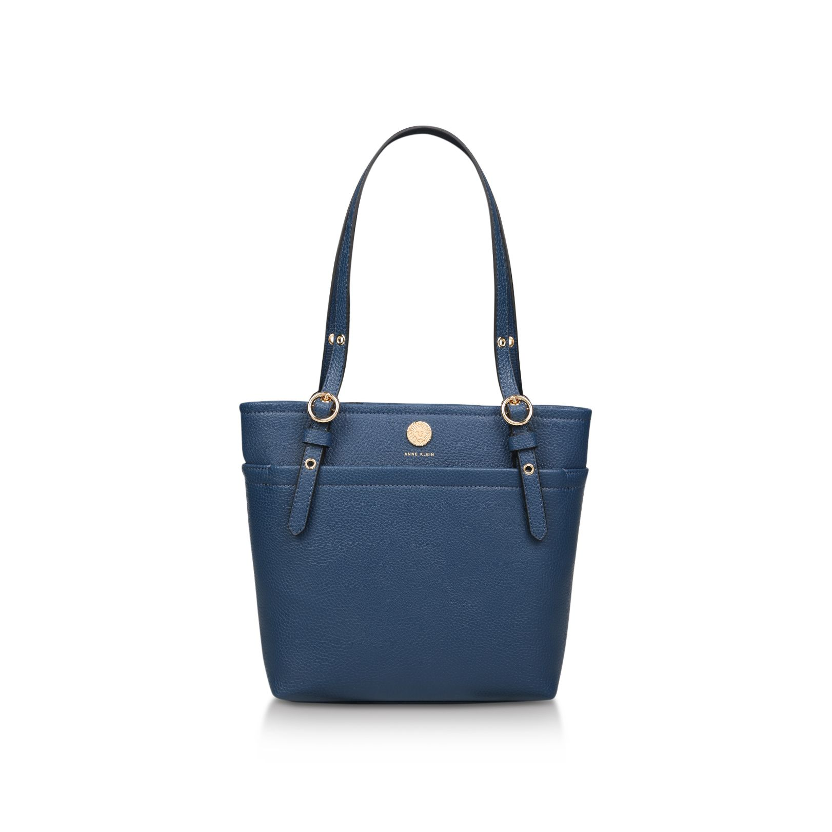 Anne Klein Geo Pocket Tote Bag, Blue
