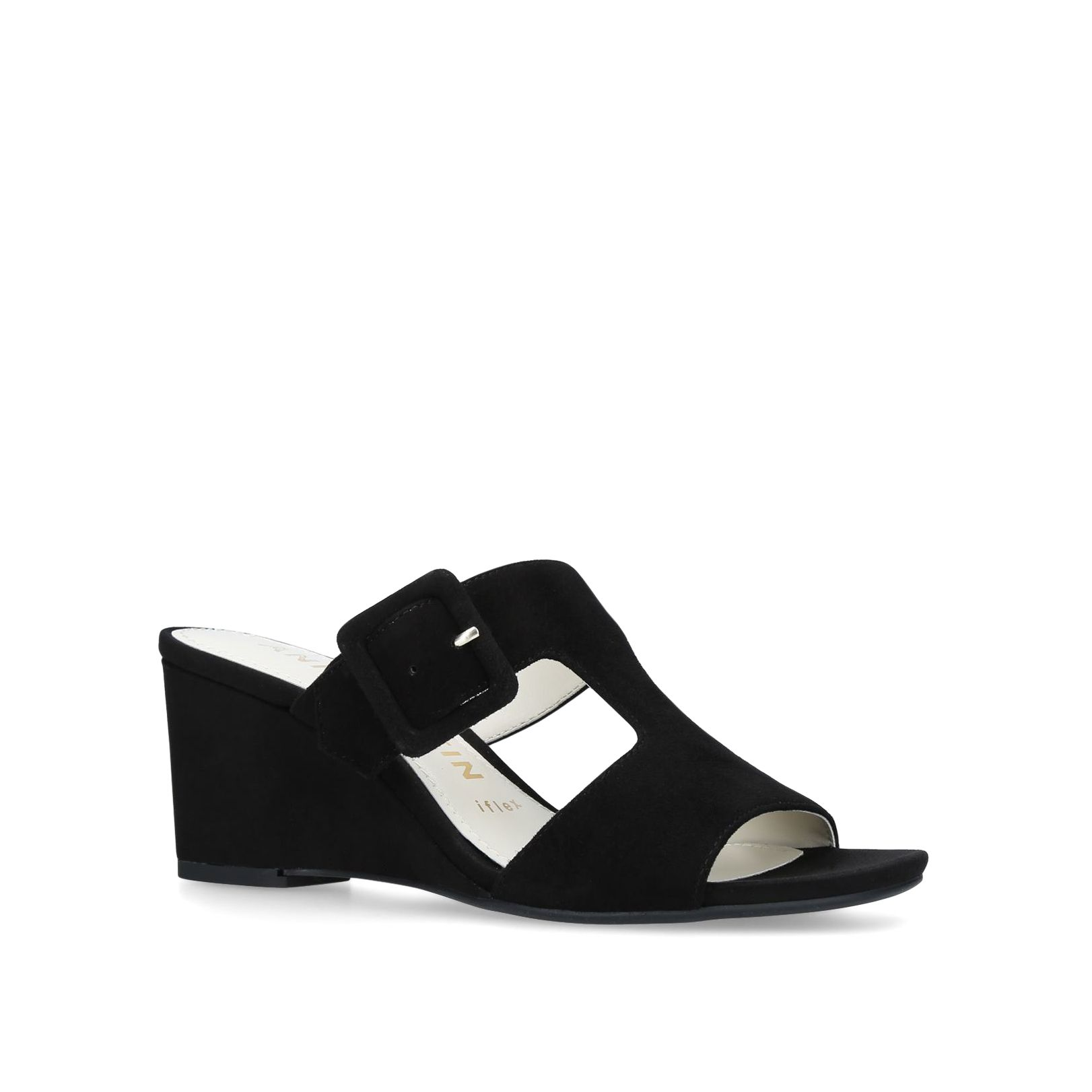 Anne Klein Nilli Sandals, Black