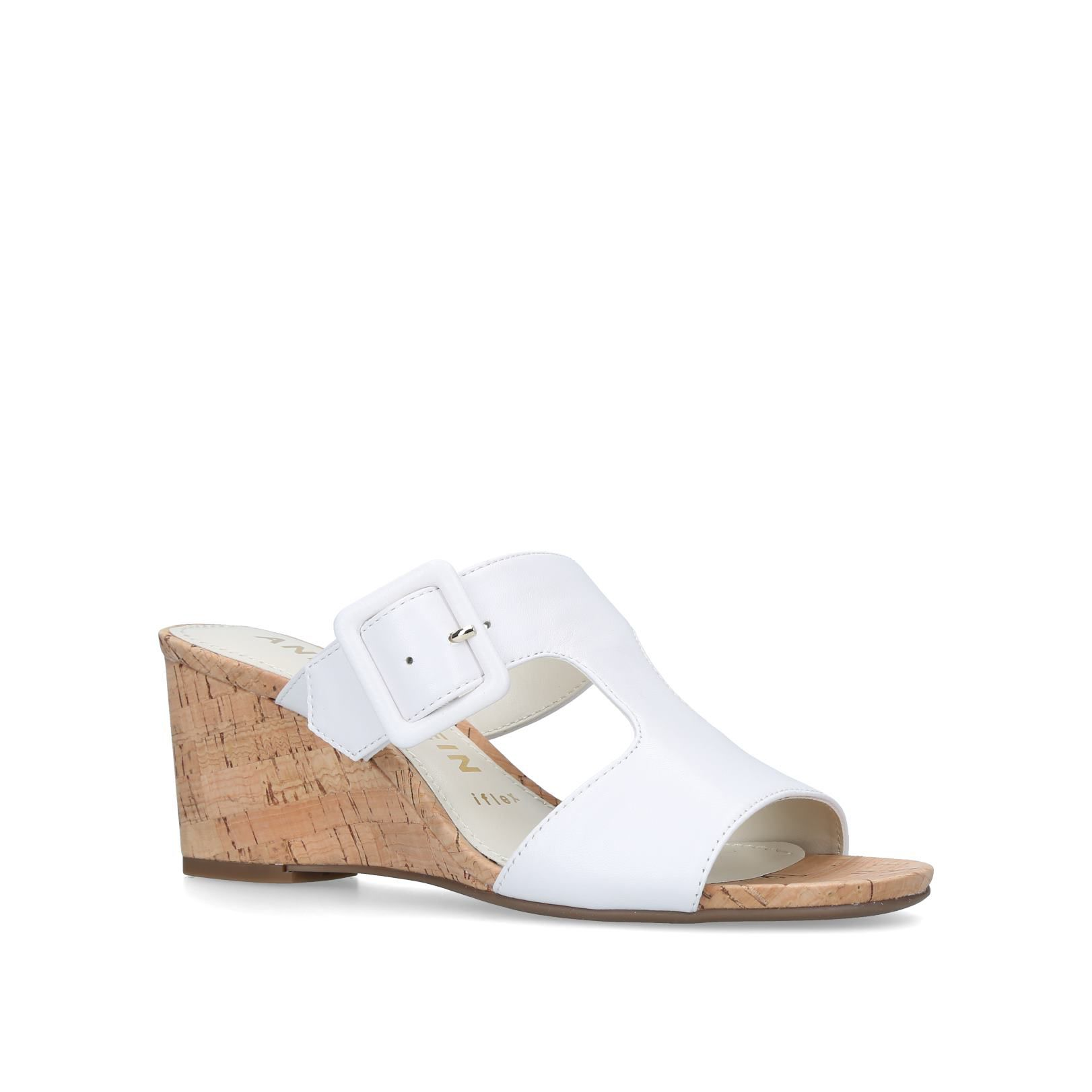 Anne Klein Nilli Sandals, White