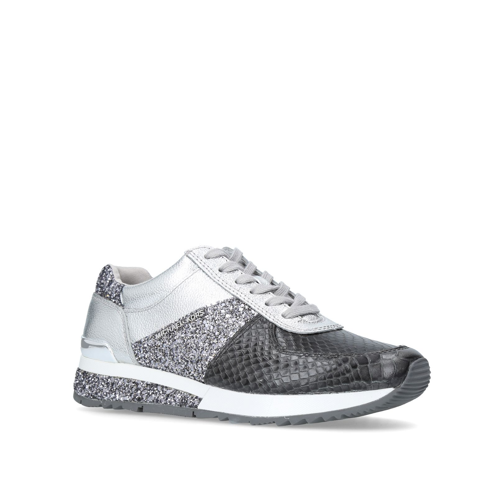 Michael Kors Allie Wrap Trainer Trainers, Charcoal