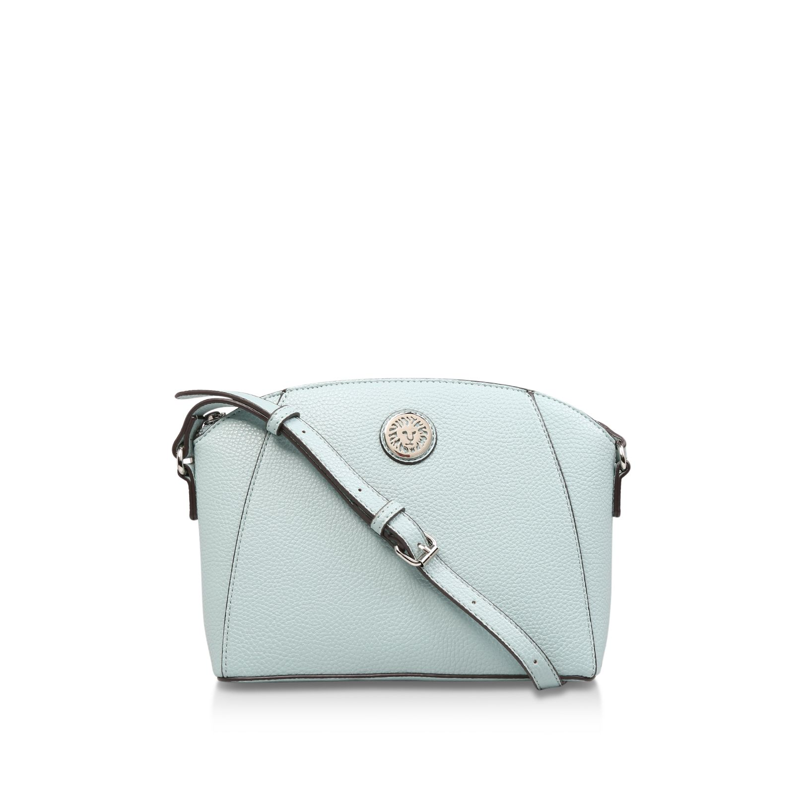 Anne Klein Classic Curves Crossbody Bag, Turquoise