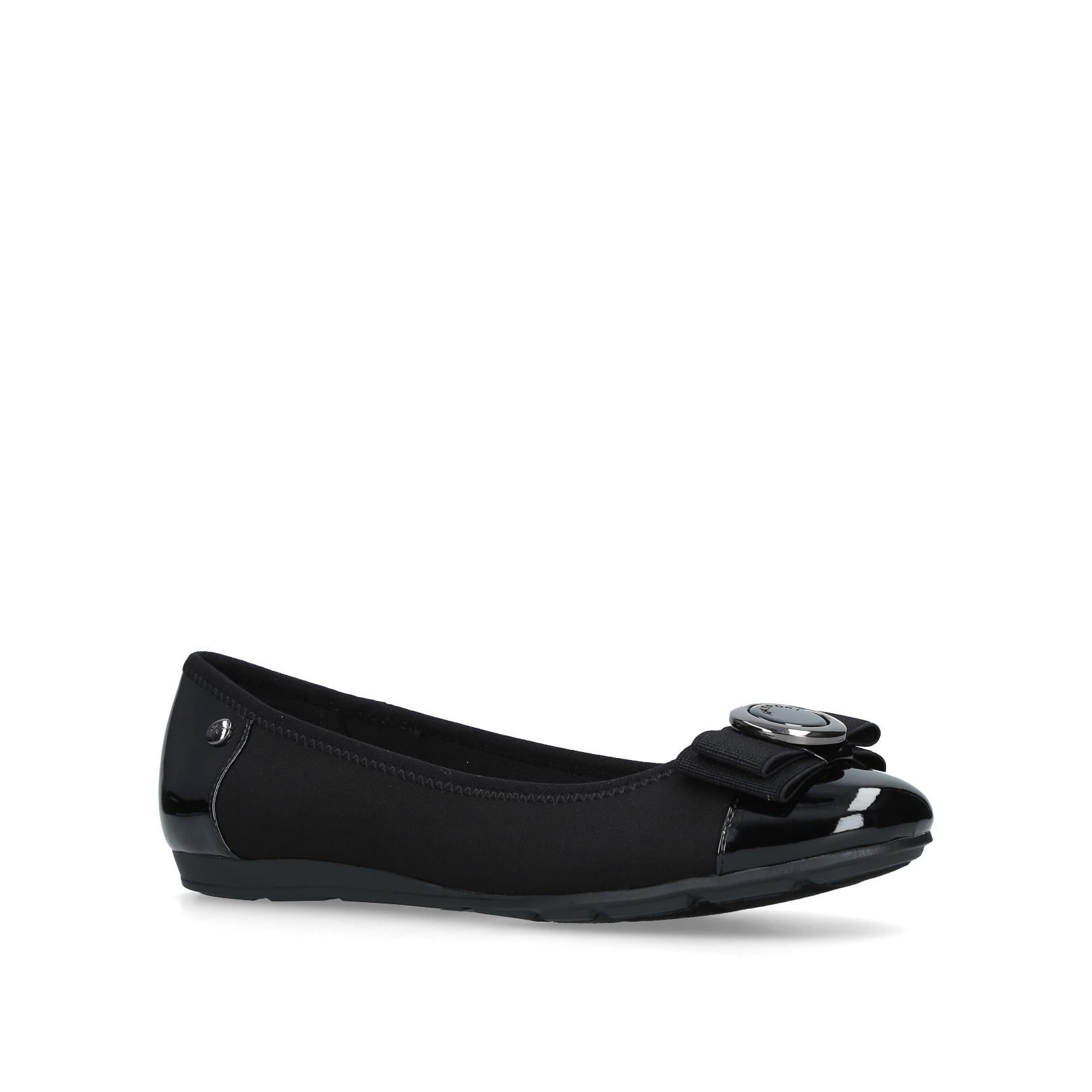 Anne Klein Amuzement Ballerina Pumps, Black