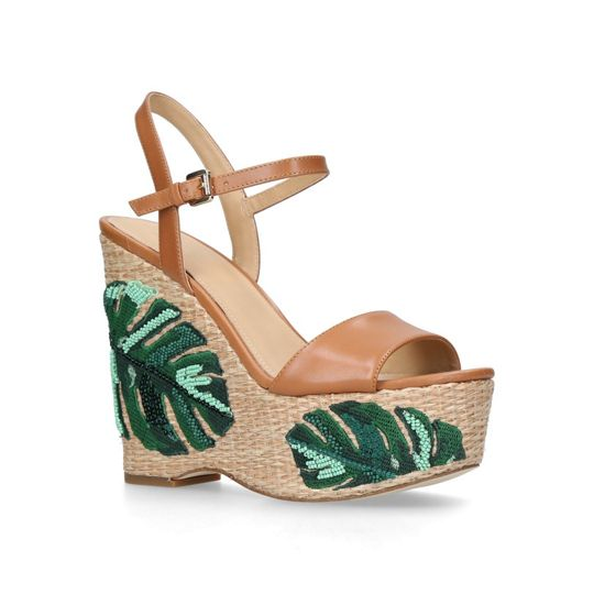 Michael Kors Fisher Wedge Sandals
