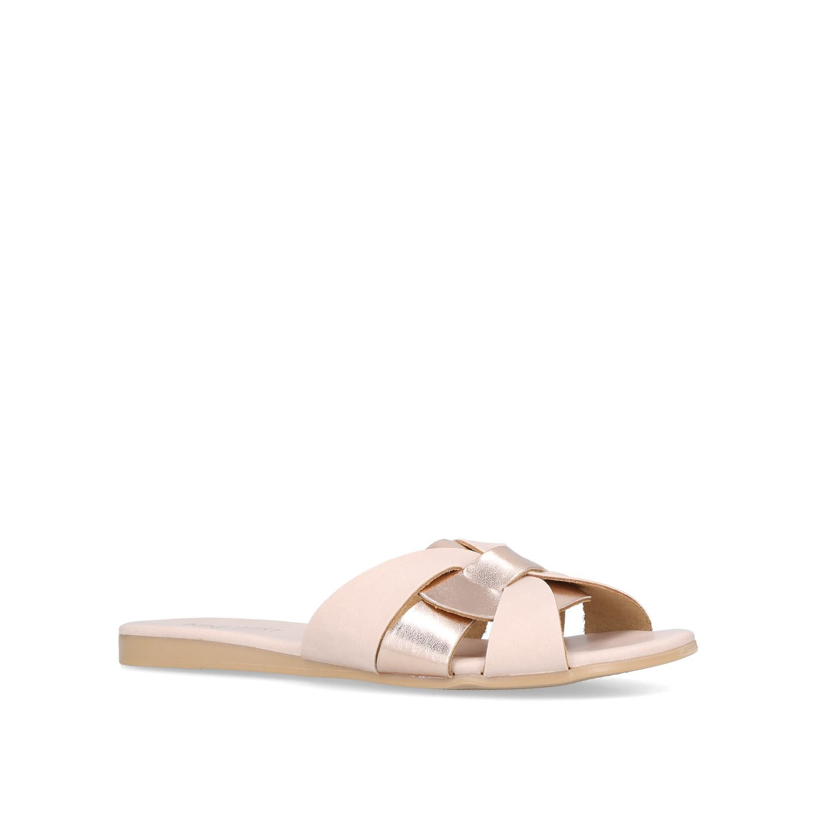 Nine West Candy Sandals, Nude