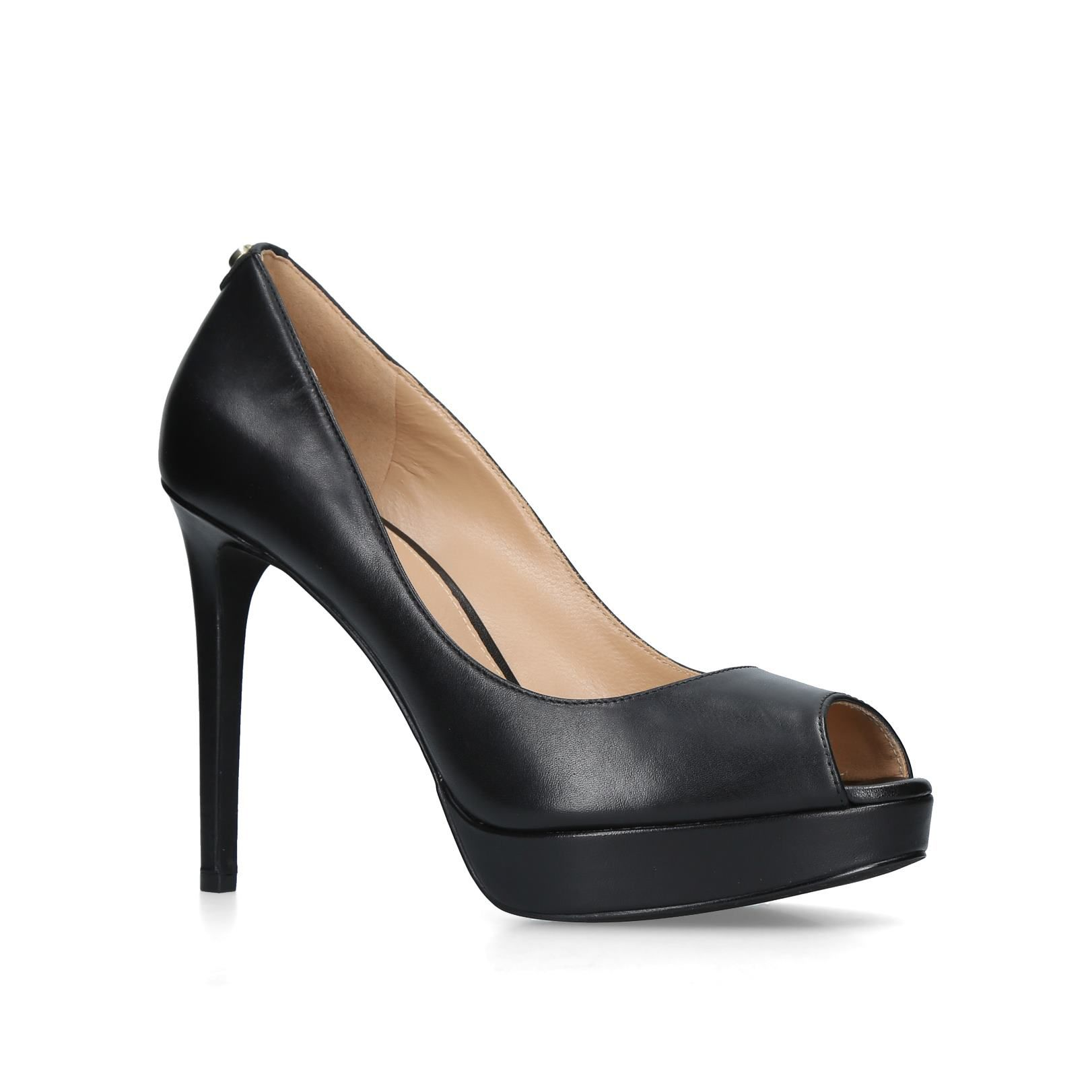 Click to view product details and reviews for Michael Kors Erika Platform Courts Jet.