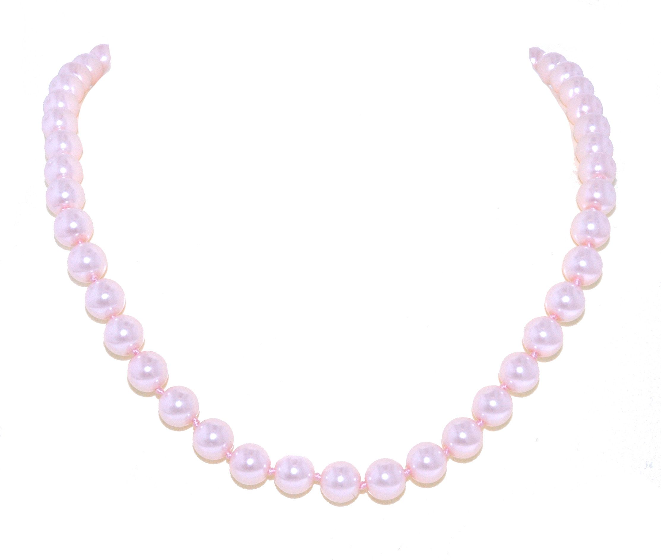 lilli and koe single strand faux pearl necklace