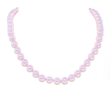 Lilli & Koe Single Strand Faux Pearl Necklace