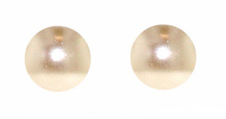Lilli & Koe Mink faux pearl stud earrings