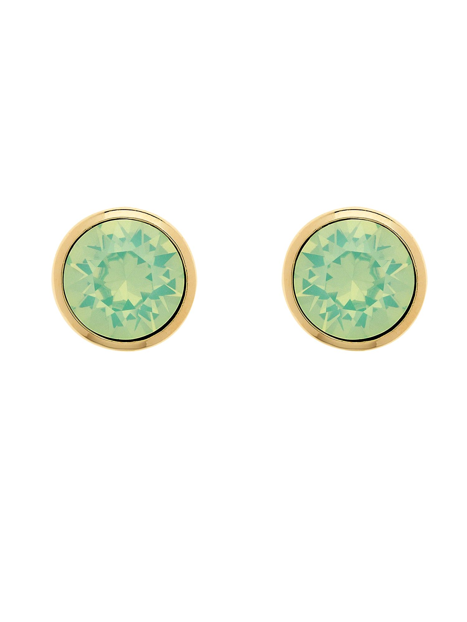 melissa odabash gold chrysolite opal crystal earrings