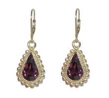 1928 Teardrop Bobble Earrings