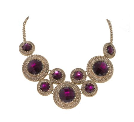 1928 Circles Statement Necklace