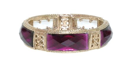 1928 Faceted Radiant Bangle
