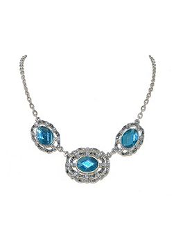 Marcasite Ovals Necklace