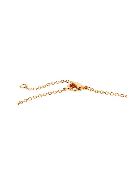 Melissa Odabash Rose gold crystal evil eye necklace