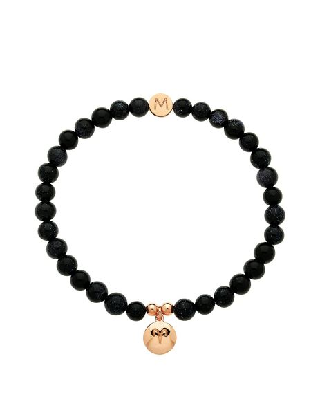 Melissa Odabash Rose gold crystal aries bracelet