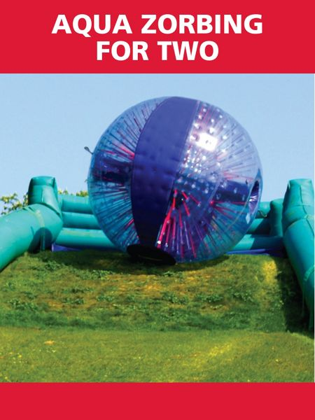 red letter days aqua zorbing for two house of fraser