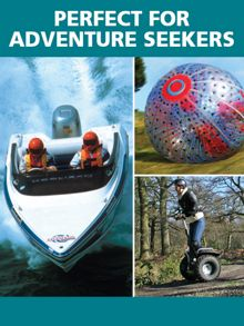 Red Letter Days Perfect for Adventure Seekers
