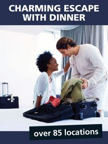 Charming Escape with Dinner for Two