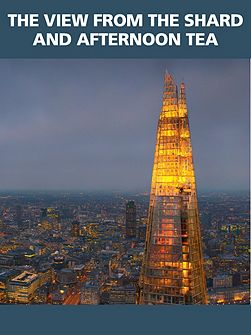 The view from the Shard and afternoon tea