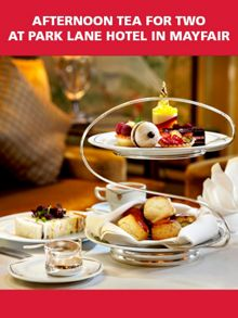 Red Letter Days Afternoon Tea for 2 at Park Lane Hotel in Mayfair