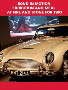 Bond In Motion Exhibition and Meal for Two