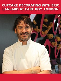 Cupcake Decorating with Eric Lanlard at Cake Boy