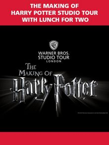 Harry Potter Studio Tour with Lunch for Two
