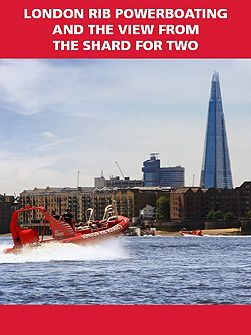 London RIB Powerboating & The View from The
