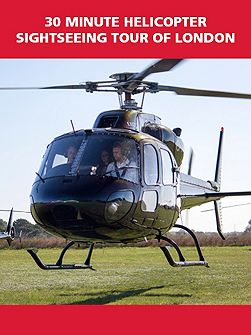 30 Minute Helicopter Sightseeing Tour of London