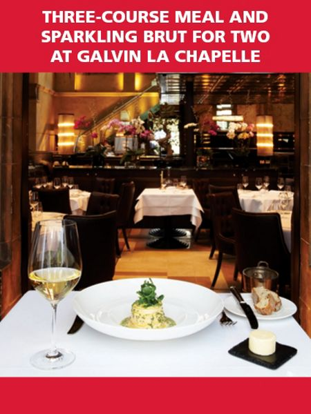 Red Letter Days Meal & Sparkling Brut for 2 at Galvin La Chapelle