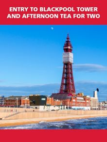 Red Letter Days Entry to Blackpool Tower and Afternoon Tea for 2