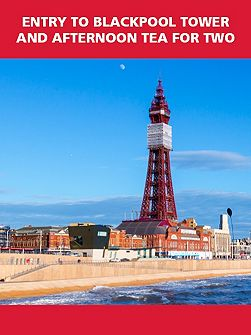 Entry to Blackpool Tower and Afternoon Tea for