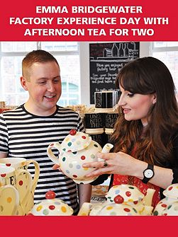 Emma Bridgewater Experience with Tea for Two