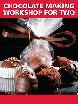 The original chocolate making workshop for two