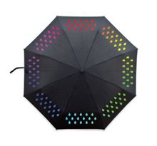 Colour change umbrella