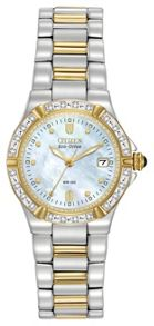 EW0894-57D ladies two-tone bracelet watch