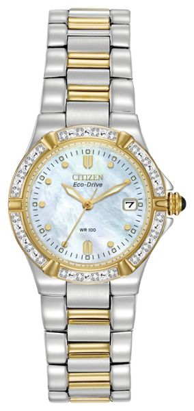 Citizen EW0894-57D ladies two-tone bracelet watch