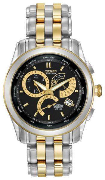 Citizen BL8004-53E mens two-tone bracelet watch