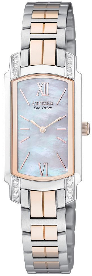 EG2726-54D Ladies Eco-Drive Crystal Case
