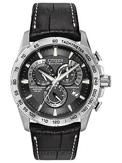 AT4000-02E mens black strap watch