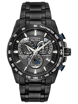 AT4007-54E mens black bracelet watch