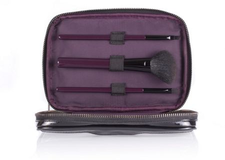 Wild About Beauty Makeup Bag & Mini Brush Set