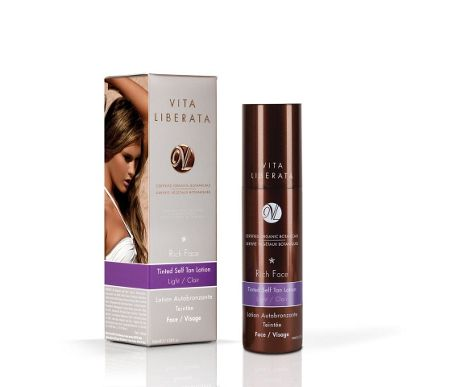 Vita Liberata Rich Face light tinted tan lotion