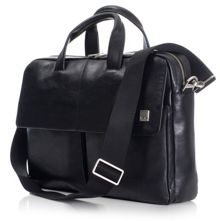 Dundee 17 black briefcase